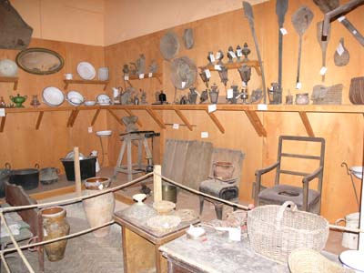 panoramica interna museo