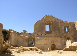 Veduta interno castello