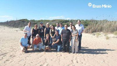 foto foce platani giornalisti