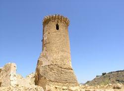 Veduta esterna torre castello